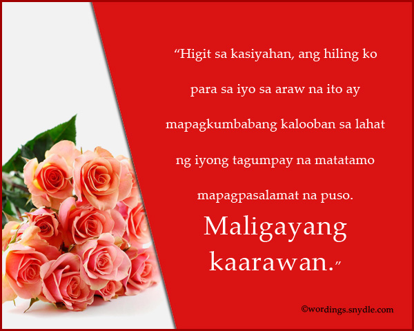 birthday message to girlfriend tagalog ; tagalog-birthday-wishes