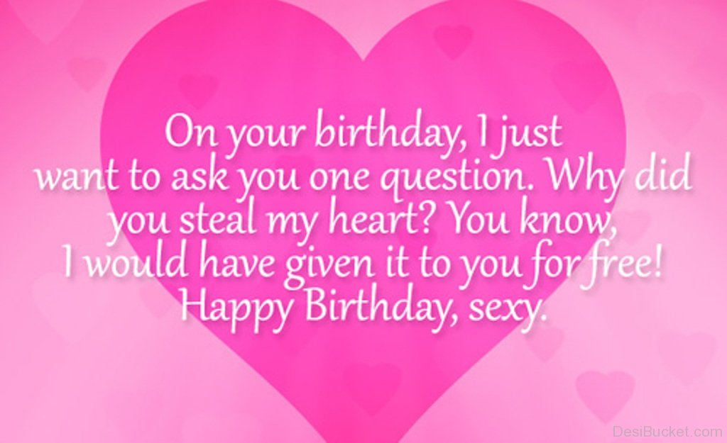 birthday message to my crush ; I-Just-Want-To-Ask-You-One-Question