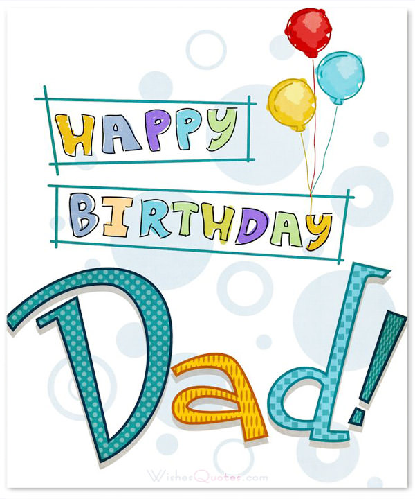 birthday message to my dad ; happy-birthday-dad