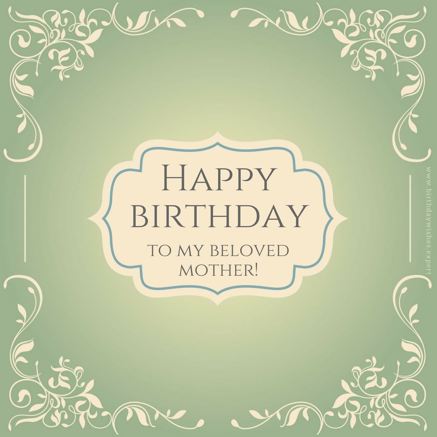 birthday message to my mom ; Birthday-wish-for-my-mother