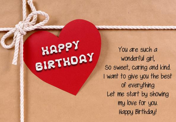 birthday message to my sweetheart ; Love-Birthday-Messages