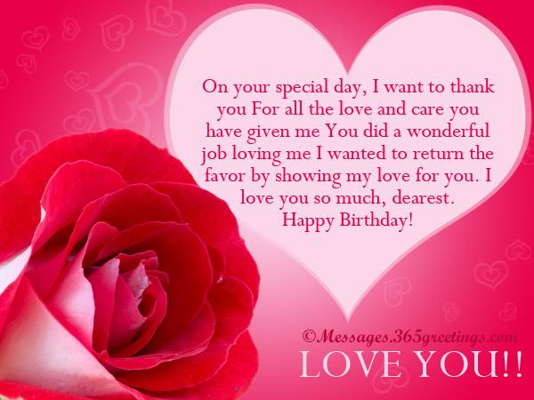 birthday message to my sweetheart ; happy-birthday-love-messages