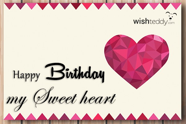 birthday message to my sweetheart ; happy-birthday-message-to-my-sweetheart-wish-teddy-2118