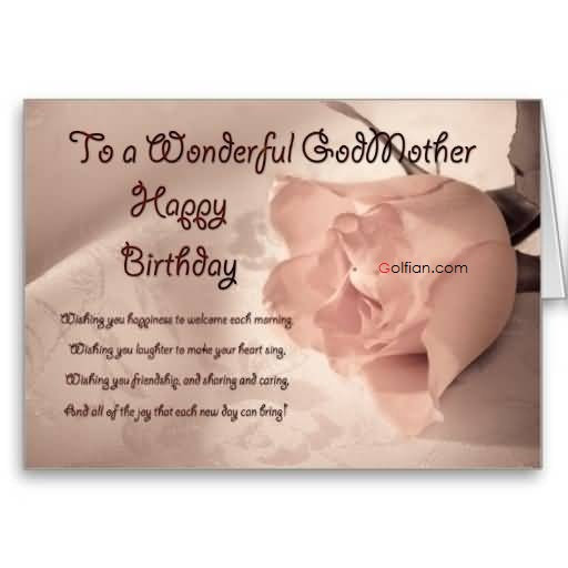 birthday message to ninang ; Lovely-Rose-Birthday-Wishes-For-Wonderful-Godmother