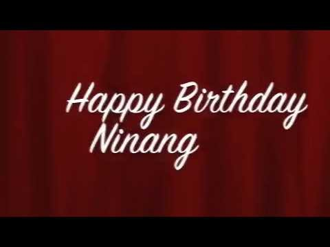 birthday message to ninang ; hqdefault