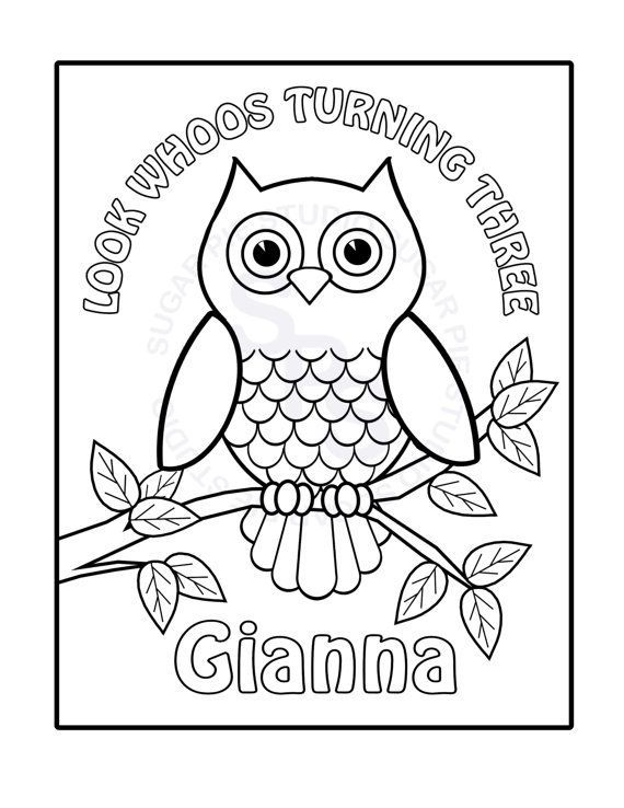 birthday owl coloring pages ; c39211494b033b3fd4ed9c8dbabd9efa