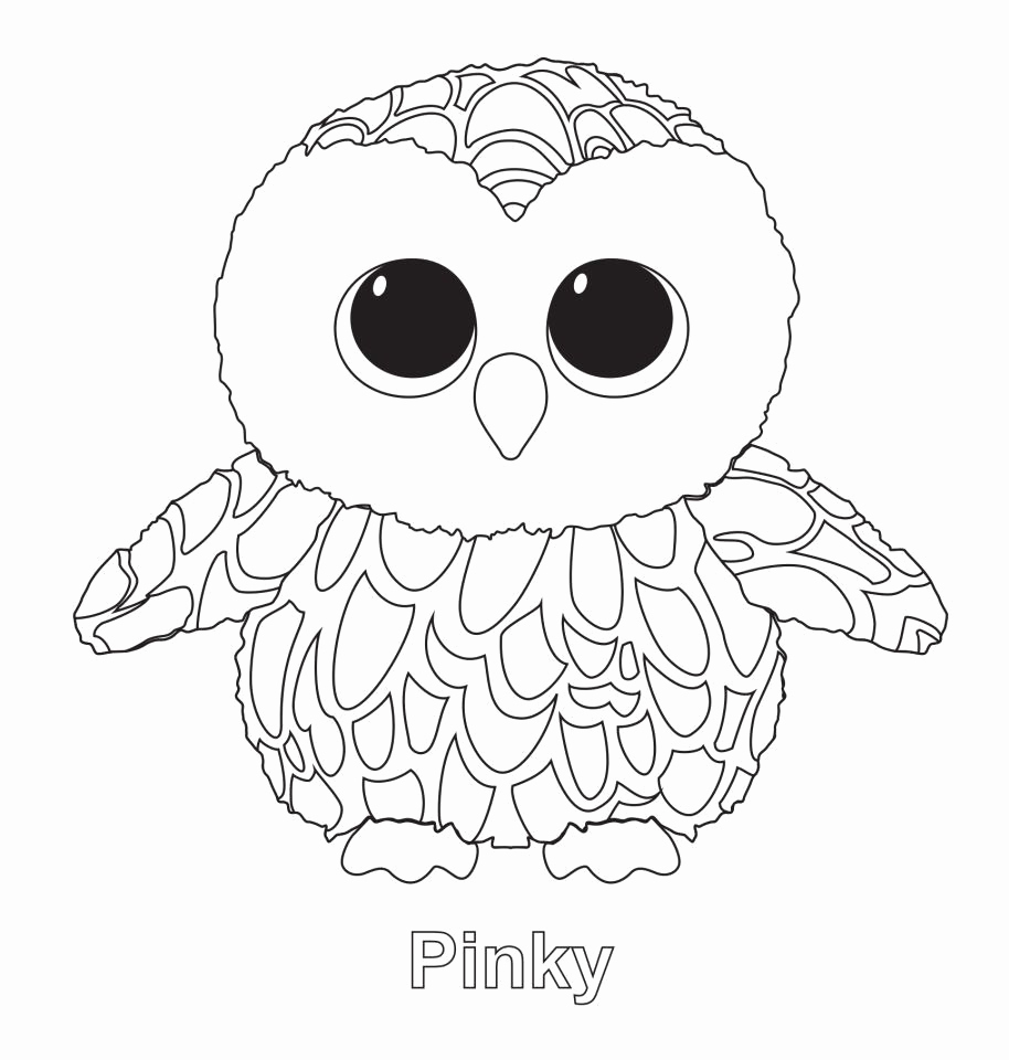 birthday owl coloring pages ; pinky-the-owl-ty-beanie-boo-ty-beanie-boos-pinterest-birthday-owl-coloring-pages-of-birthday-owl-coloring-pages