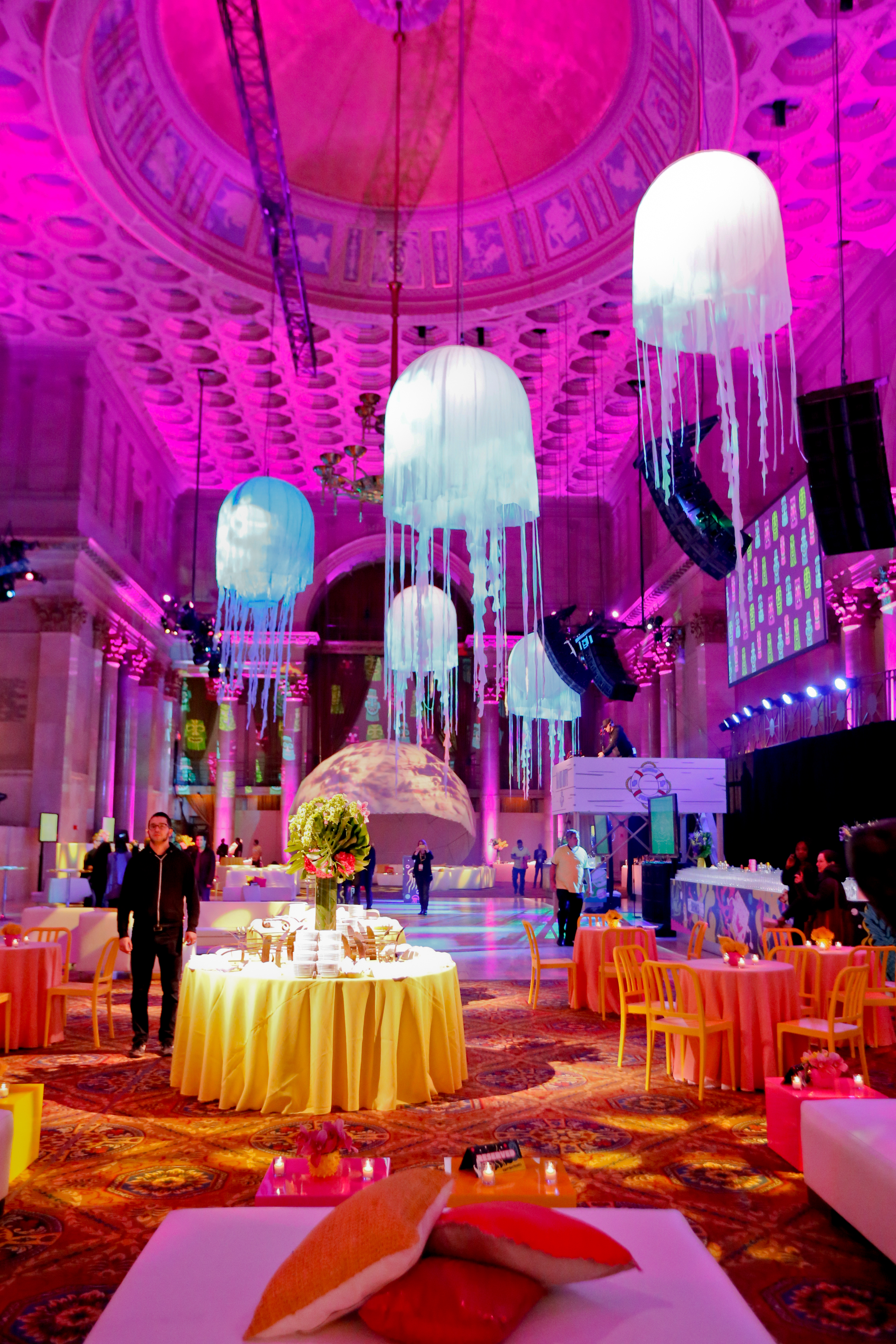 birthday party events ideas ; pink_jellyfish