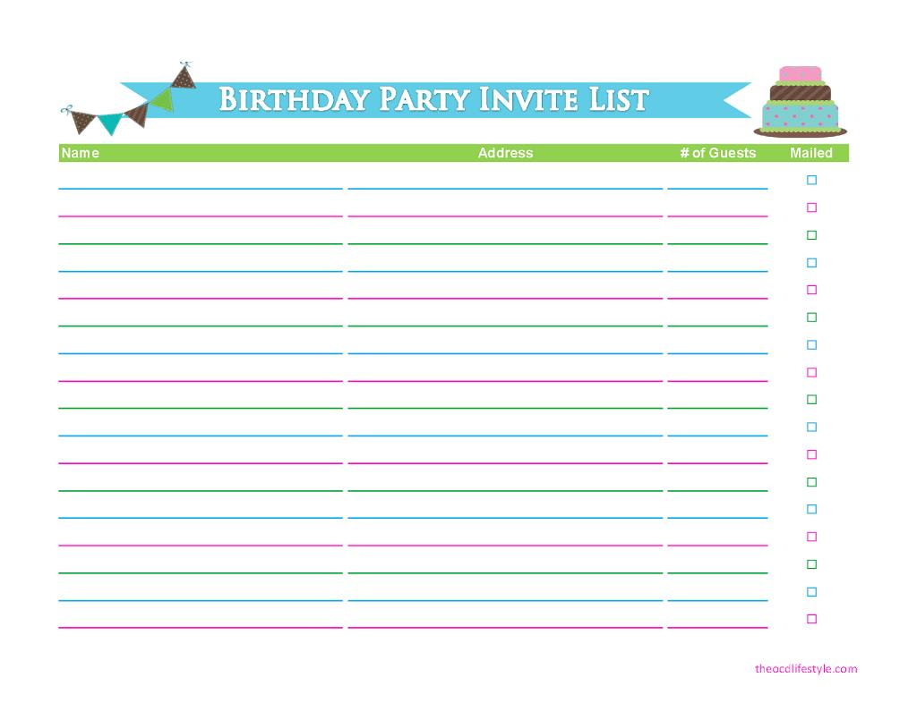 birthday party guest list template excel ; -free-guest-list-templates-word-excel-pdf-formats-guest-list-example-