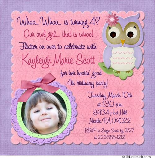 birthday party invitation message ; Excellent-4Th-Birthday-Invitation-Wording-Which-You-Need-To-Make-Birthday-Party-Invitations