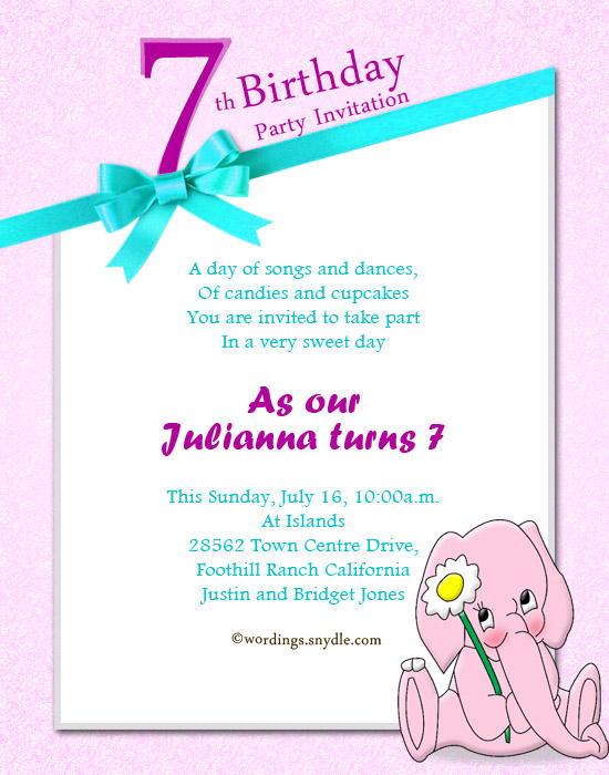 birthday party invitation message ; birthday-party-invitation-wordings