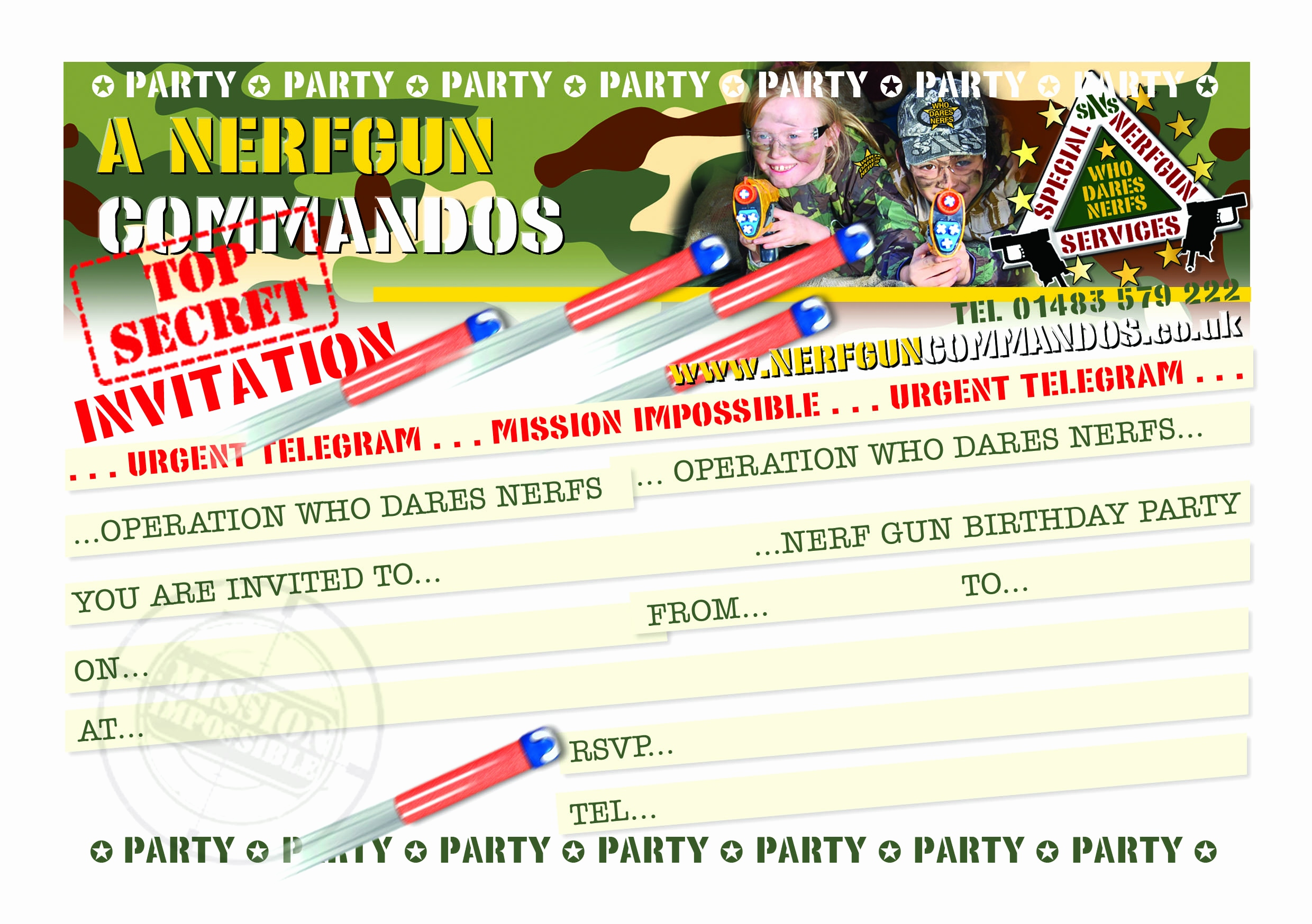 birthday party invitation template free online ; free-online-printable-birthday-cards-beautiful-nerf-party-invitations-template-of-free-online-printable-birthday-cards