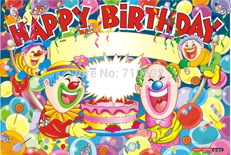 birthday party scene image ; Happy-Birthday-Posters-Scene-Setter-Party-Wallpaper-Colorful-Festive-Party-Backdrop-Room-Decor-Birthday-Party-Supplies