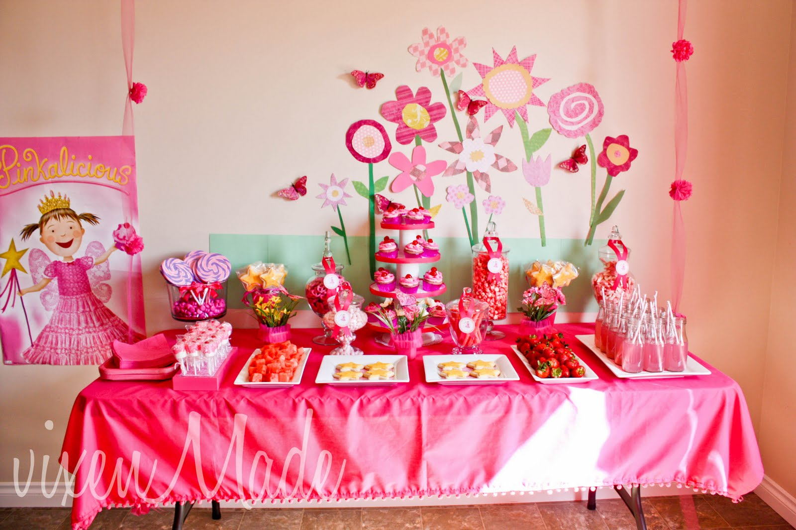 birthday party themes for girls ; Girls-Party-Ideas-9