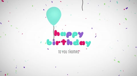 birthday photo effects ; happy-birthday-wishes-message-balloons-after-effect-058348421_iconl