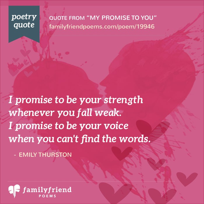 birthday poem for lover in english ; my-promise-to-you