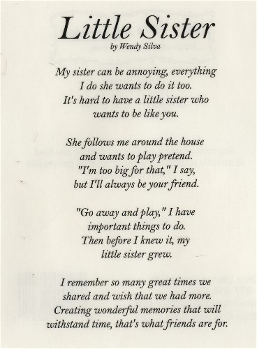 birthday poem for my big sister ; ba7b3ec4918dde39bf543008ddab596c