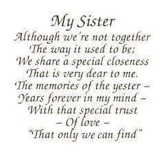 birthday poem for my big sister ; xu2_happy_birthday_older