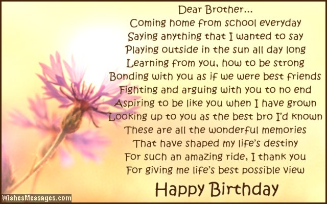 birthday poem for my brother ; Cute-birthday-greeting-poem-for-brother