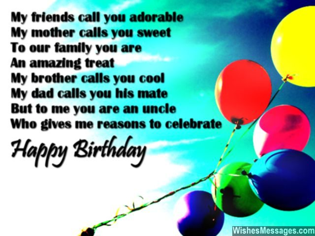 birthday poem for my brother ; Cute-birthday-message-to-say-happy-birthday-to-uncle-640x480