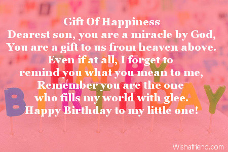 birthday poem for my son ; 1943-son-birthday-poems