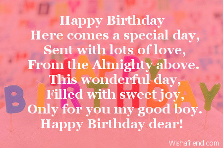 birthday poem for my son ; 2664-son-birthday-poems