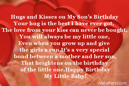 birthday poem for my son from mom ; 2022-son-birthday-poems