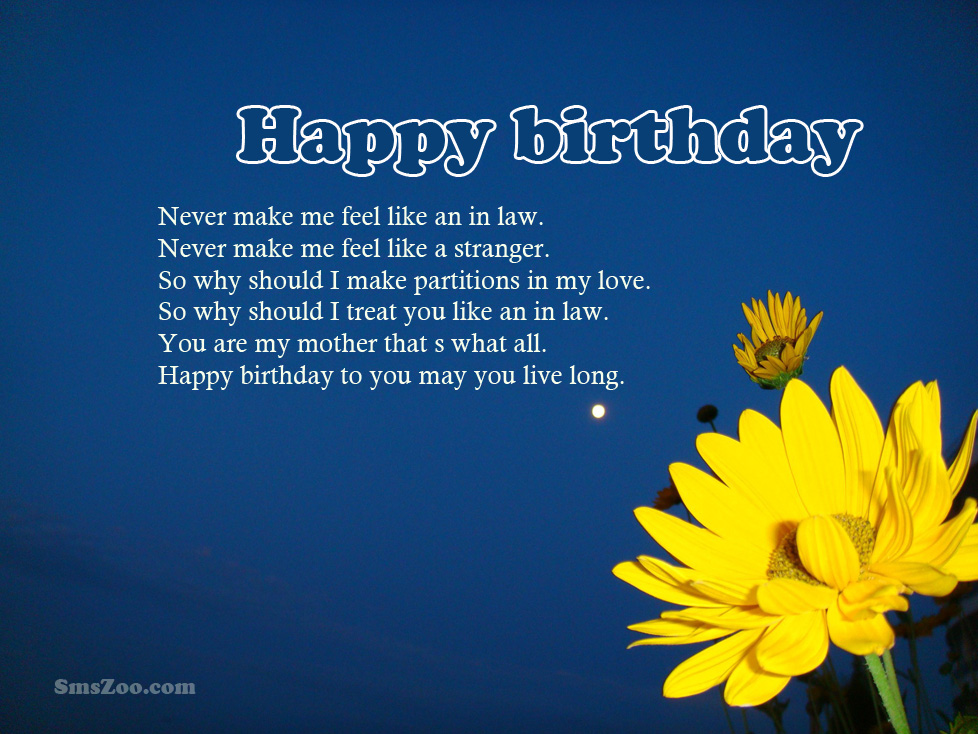 birthday poem for my son from mom ; Birthday-Poems-For-Mother-In-Law