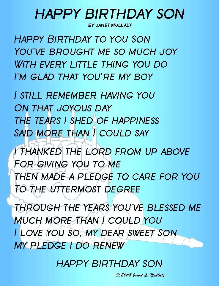 birthday poem for my son from mom ; birthday-cards-for-son-from-mother-son-birthday-quotes-from-mom-lovely-son-birthday-poems-birthday-cards-for-son-from-mother
