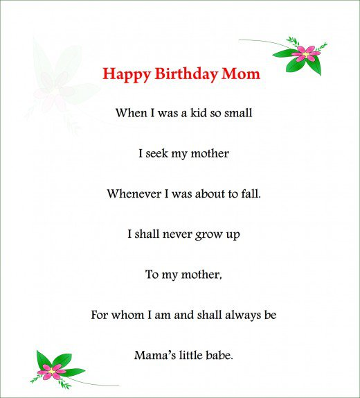 birthday poem for my son from mom ; short-poem-for-mom-home-design-34