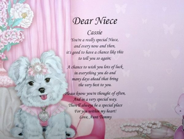 birthday poem for niece ; happy-birthday-to-my-niece-poems