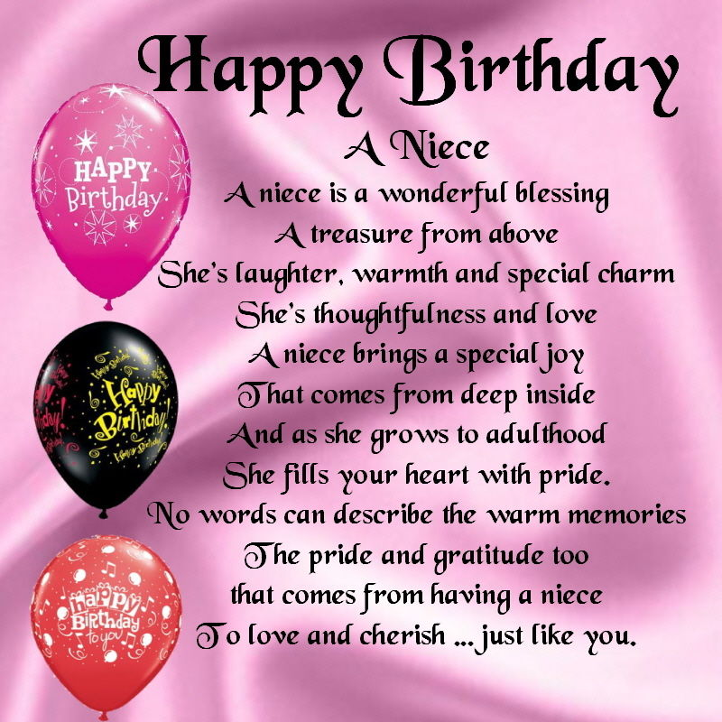 birthday poem for niece ; niece-birthday-poems-6