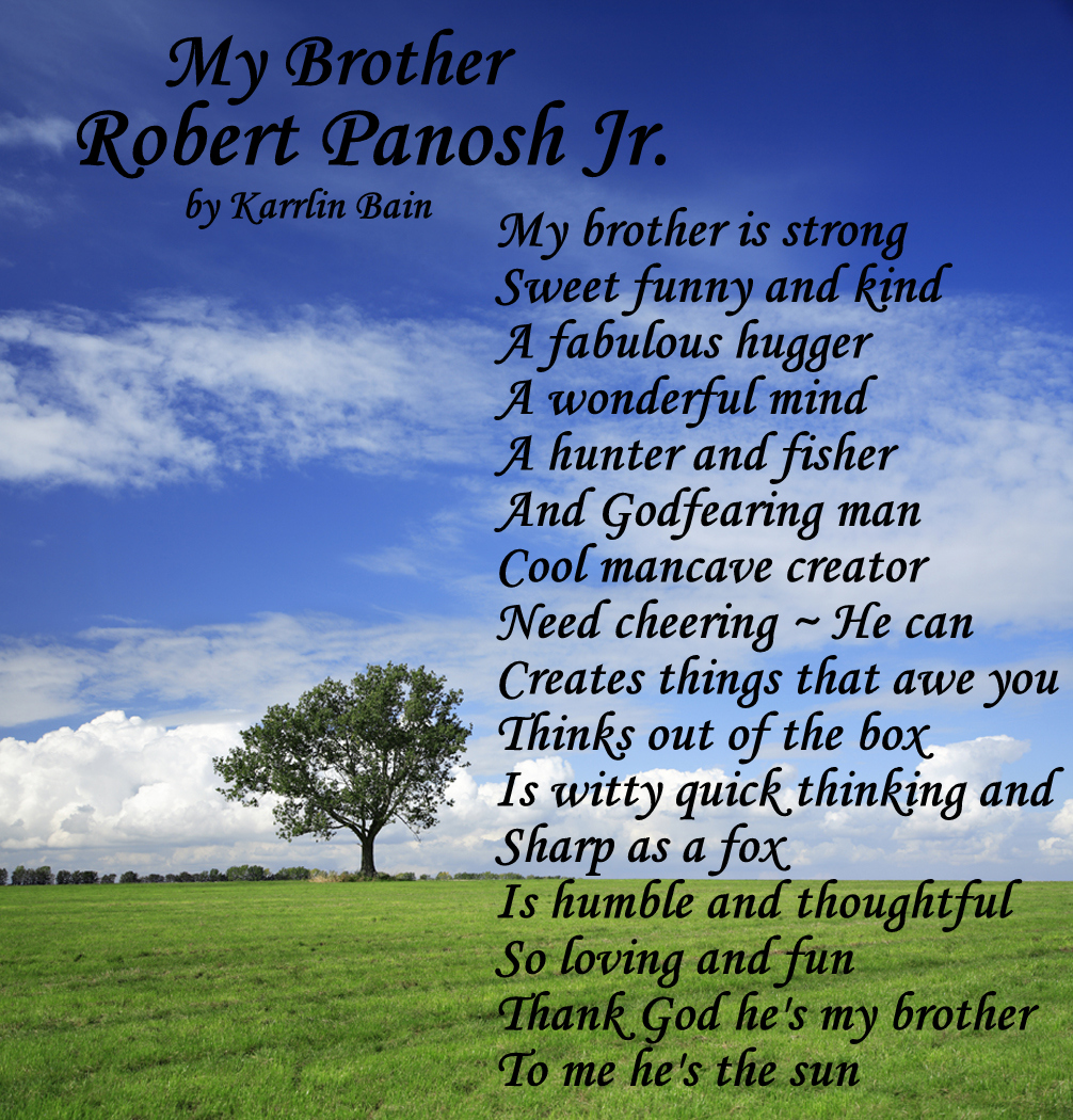 birthday poem for older brother ; MP900438698-002