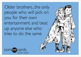 birthday poem for older brother ; older-brothers-the-only-people-who-will-pick-on-their-own-entertainment-happy-birthday-quotes-for-brother-funny-beat-anyone