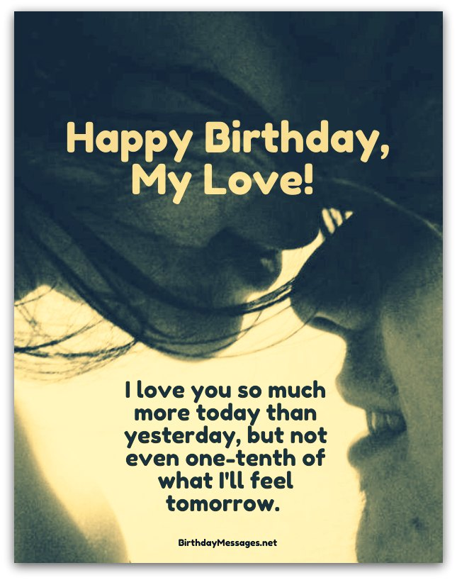birthday poem for sweetheart ; romantic-birthday-wishes2A