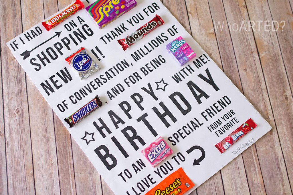 birthday poster with candy ; Candy-Gram-Birthday-Card-1-04-1024x682
