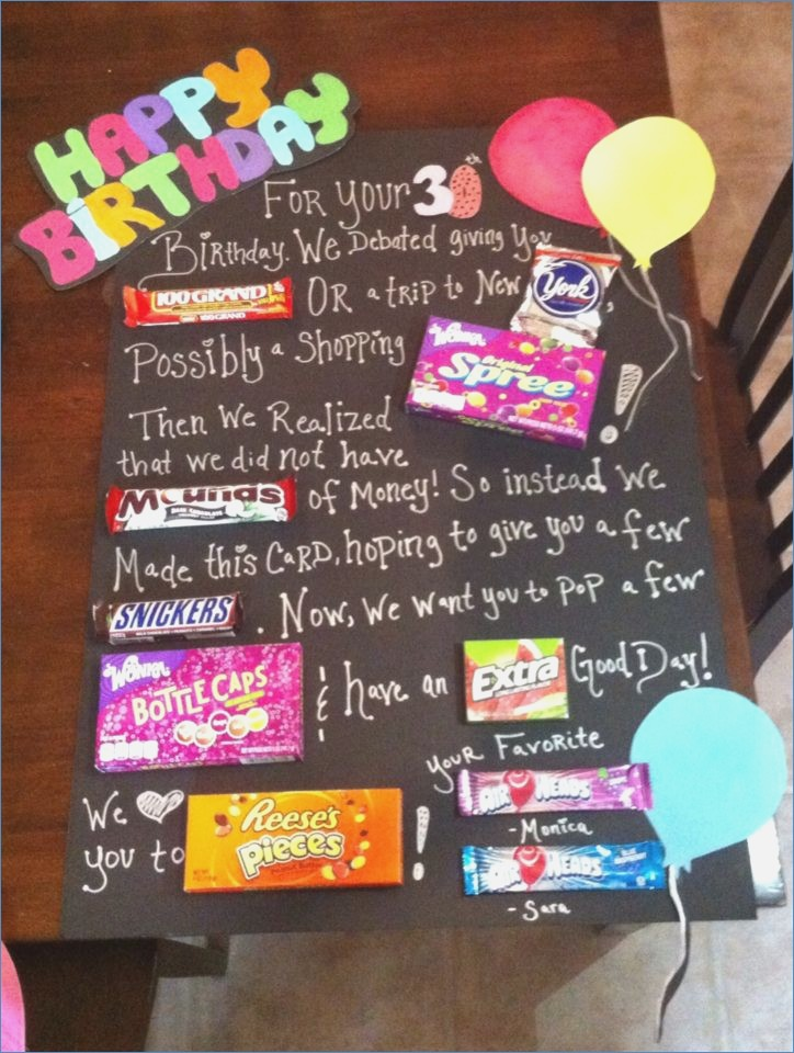 birthday poster with candy ; birthday-candy-poster-30th-birthday-candy-poster-by-monica-of-poster-board-birthday-card-ideas
