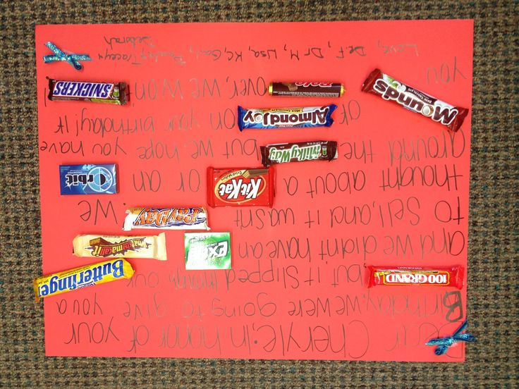 birthday poster with candy ; happy-birthday-homemade-candy-bar-poster-card-crafts-ideas_93513