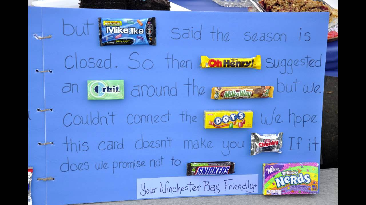 birthday poster with candy ; maxresdefault