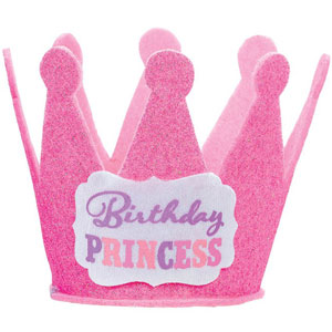 birthday princess hat ; 250543_image_wearables_Birthday-Princess-Mini-Glitter-Hat_Dubai-Ab