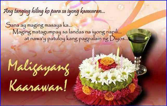 birthday thank you message tagalog ; thank-you-message-for-birthday-greetings-tagalog