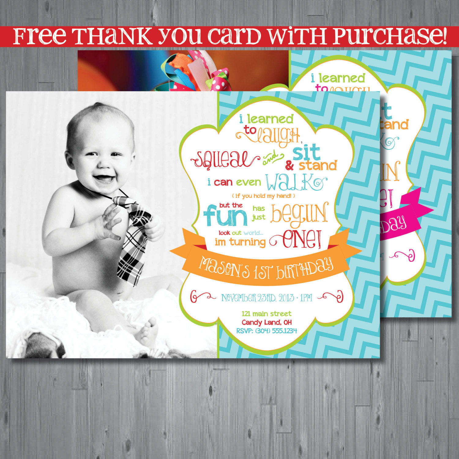 birthday thank you poem ; 1st-birthday-party-thank-you-card-wording-1st-birthday-thank-you-card-wording-to-get-ideas-how-to-make-your-own-birthday-card-design-6