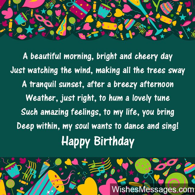 birthday verses for someone special ; Sweet-birthday-greeting-card-for-someone-special-640x640