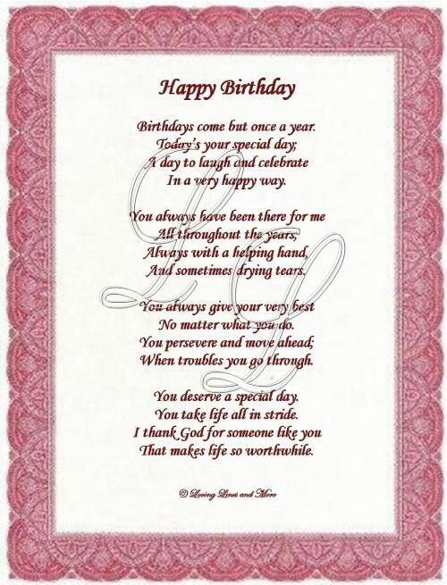 birthday verses for someone special ; d92773f06efd1f4edf55904dab8d6813