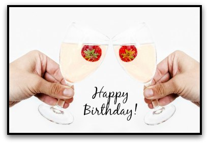 birthday wine toast ; champagne-and-strawberry-1380366737HJ5