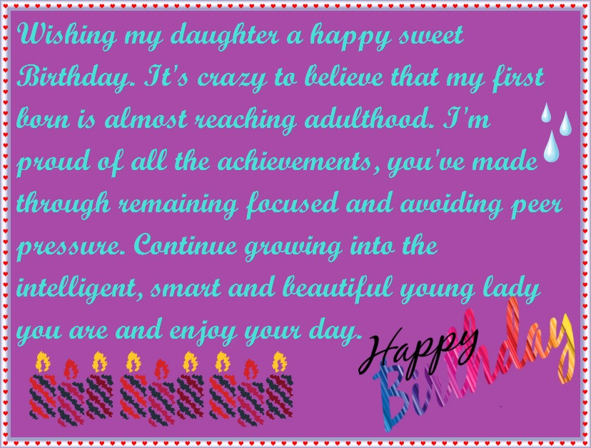 birthday wish for a daughter from a mom ; mom-to-daughter-birthday-97ju