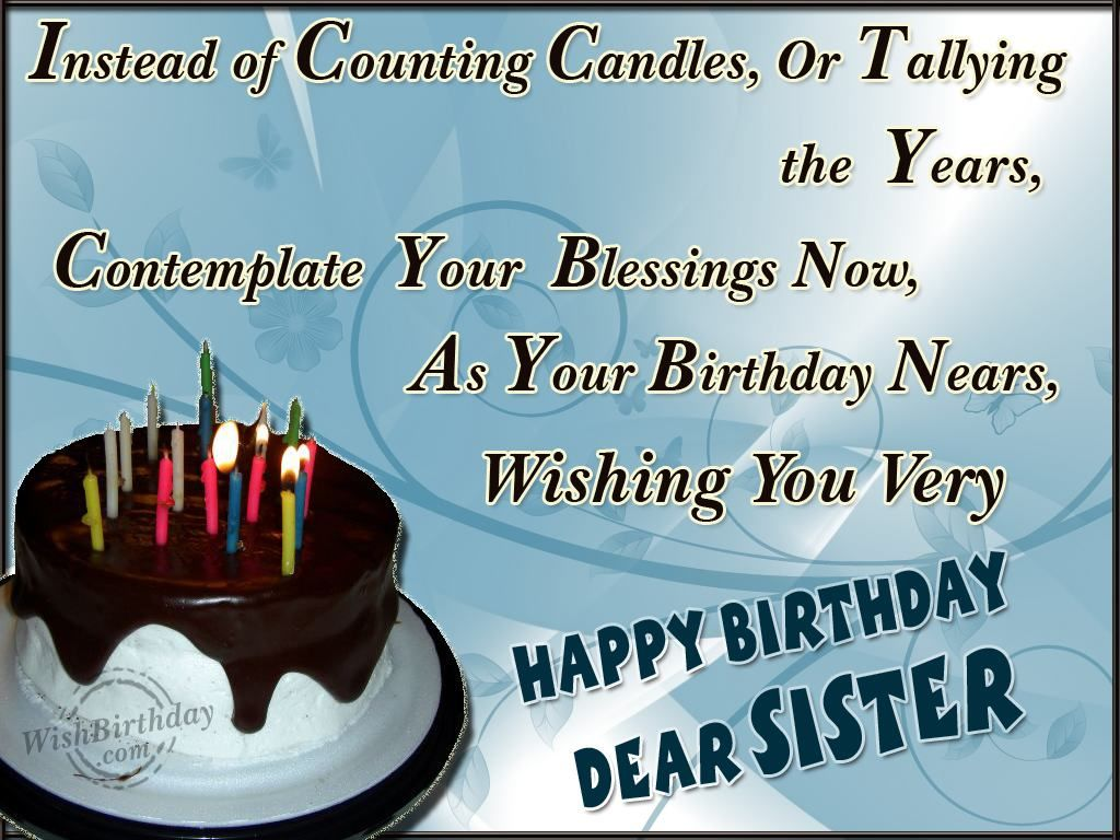 birthday wish to sister sms ; 9d92974357866339f13aa867bfbe500b
