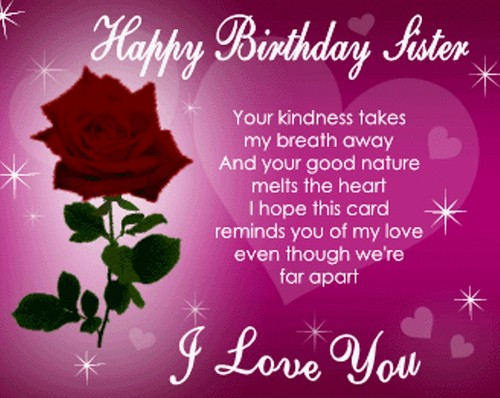 birthday wish to sister sms ; birthday-wishes-for-sister-sms-3