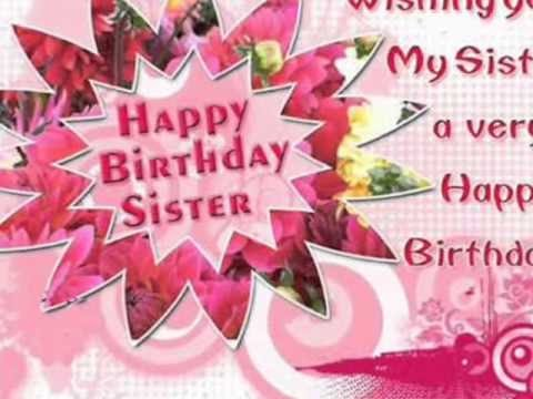 birthday wish to sister sms ; hqdefault