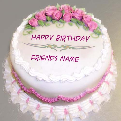 birthday wishes on cake with name and photo ; 1453382317_35470108